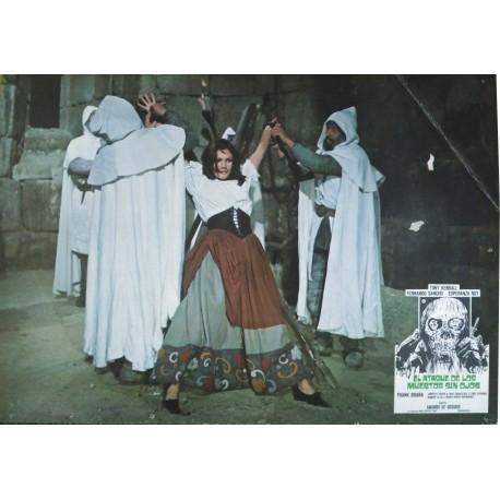 LE RETOUR DES MORTS-VIVANTS (EL ATAQUE DE LOS MUERTOS SIN OJOS) - Photo d'exploitation espagnole - 1973 - Amando de Ossorio