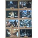 INDIANA JONES - AVENTURIERS DE L'ARCHE PERDUE - Jeu de 8 photos allemande RARE BLOC A - 1981 - Spielberg, Harrison Ford