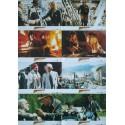 INDIANA JONES ET LA DERNIERE CROISADE - Jeu de 8 photos allemande BLOC B - 1989 - Spielberg, Harrison Ford, Sean Connery