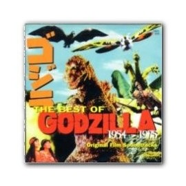The Best of Godzilla 1954-1975 (Akira Ifukube) Soundtrack CD