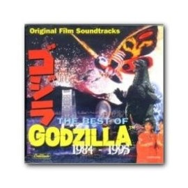 The Best of Godzilla 1984-1995 (Akira Ifukube) Soundtrack CD