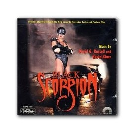 Black Scorpion (David G. Russel and Kevin Kiner) Soundtrack CD