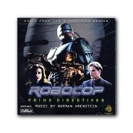 Robocop: Prime Directives (Norman Orenstein) Soundtrack CD