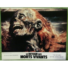 LE RETOUR DES MORTS-VIVANTS - Jeu de 12 photos d'exploitations - 1985 - Dan O'Bannon, James Karen, Don Calfa, Clu Gulager