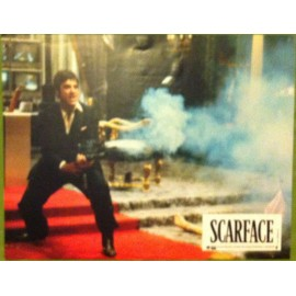 SCARFACE - Photo d'exploitation - 1983 - Brian de Palma, Al Pacino, Michelle Pfeiffer, Steven Bauer