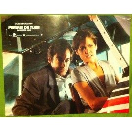 PERMIS DE TUER - James Bond - Jeu de 8 photos d'exploitations - 1989 - Timothy Dalton, Robert Calvi, Carey Lowell