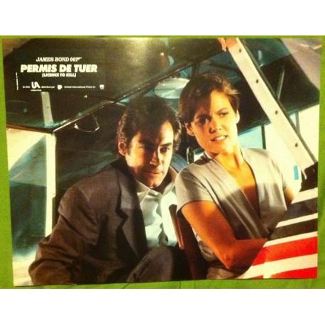 PERMIS DE TUER - James Bond - Jeu de 8 photos d'exploitations - 1989 - Timothy Dalton, Robert Calvi, Carey Lowell