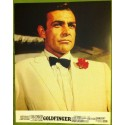 GOLDFINGER - James Bond - Jeu de 8 photos d'exploitations - 1964 - Sean Connery, Gert Frobe, Honor Blackman