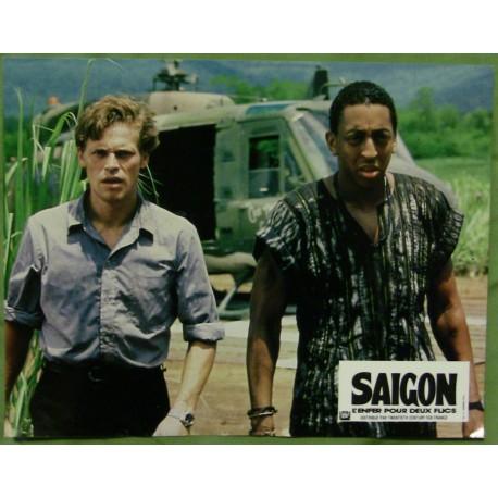 SAIGON, L'ENFER POUR DEUX FLICS - Jeux de 9 photos d'exploitations - 1988 - Willem Dafoe, Gregory Hines