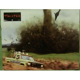 TWISTER - Jeux de 12 photos d'exploitations - 1996 - Helen Hunt, Bill Paxton, Cary Elwes
