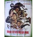 BRUCE LEE N'A PAS DE RIVAL - Affiche Originale - 1976 - Young Nam Ko, Lieh Lo, Su-il Bang, Bobby Kim