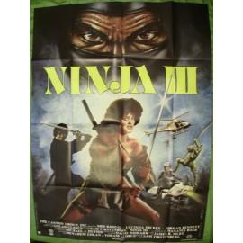 NINJA III - Affiche originale - 1984 - Shô Kosugi, Lucinda Dickey, Jordan Bennett
