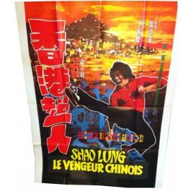SHAO LUNG LE VENGEUR CHINOIS - Affiche originale - 1975 - Leung Siu-Lung, Ting Shan-si, Fung Shui-fan, Shih Tien