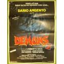 DEMONS 2 - Affiche originale - 1986 - Lamberto Bava, Dario Argento, David Edwin Knight, Nancy Brilli,