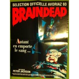 BRAINDEAD - Affiche originale - 1992 - Peter Jackson, Timothy Balme, Diana Peñalver, Elizabeth Moody