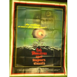 LES MONSTRES SONT TOUJOURS VIVANTS - Affiche originale - 1978 - Larry Cohen, Frederic Forrest, Kathleen Lloyd, John P. Ryan