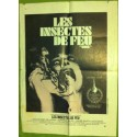 LES INSECTES DE FEU - Affiche originale - 1975 - Jeannot Szwarc, Bradford Dillman, Joanna Miles, Richard Gilliland