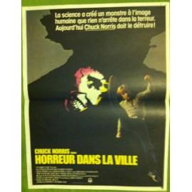 HORREUR DANS LA VILLE - Affiche originale - 1982 - Michael Miller, Chuck Norris, Ron Silver, Steven Keats