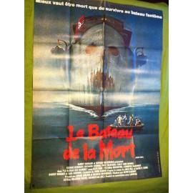 LE BATEAU DE LA MORT - Affiche originale - 1980 - Alvin Rakoff, George Kennedy, Richard Crenna, Nick Mancuso
