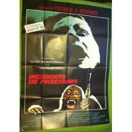 INCIDENT DE PARCOURS - Affiche originale - 1988 - George A. Romero, Jason Beghe, John Pankow, Kate McNeil