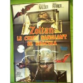 ZOLTAN LE CHIEN SANGLANT DE DRACULA - Affiche originale - 1977 - Albert Band, José Ferrer, Michael Pataki, Jan Shutan