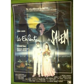 LES ENFANTS DE SALEM - Affiche originale - 1987 - Larry Cohen, Stephen King, Michael Moriarty, Samuel Fuller, Ricky Addison Reed