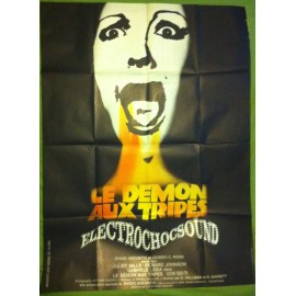 LE DEMON AUX TRIPES - Affiche originale - 1974 - Ovidio G. Assonitis, Juliet Mills, Richard Johnson, Gabriele Lavia