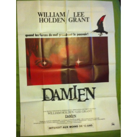 DAMIEN, LA MALEDICTION II - Affiche originale - 1978 - Don Taylor, William Holden, Lee Grant, Jonathan Scott-Taylor