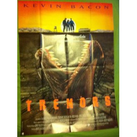 TREMORS - Affiche originale - 1990 - Kevin Bacon, Fred Ward, Finn Carter, Ron Underwood