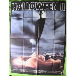 HALLOWEEN II - Affiche originale - 1981 - Jamie Lee Curtis, Donald Pleasence, Rick Rosenthal