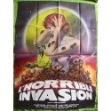L'HORRIBLE INVASION - Affiche originale - 1977 - William Shatner, Tiffany Bolling, Woody Strode
