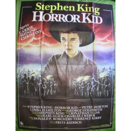 HORROR KID - Affiche originale - 1984 - Peter Horton, Linda Hamilton, Stephen King, Fritz Kiersch