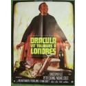 DRACULA VIT TOUJOURS A LONDRES - Affiche originale - 1973 - Christopher Lee, Peter Cushing, Michael Coles