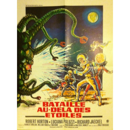 BATAILLE AU-DELA DES ETOILES - Affiche originale - 1968 - Kinji Fukasaku, Robert Horton, Luciana Paluzzi, Richard Jaeckel