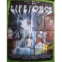 LIFEFORCE - Affiche originale - 1985 - Tobe Hooper, Steve Railsback, Mathilda May, Peter Firth