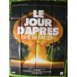 LE JOUR D'APRES - Affiche originale - 1983 - Nicholas Meyer, Jason Robards, JoBeth Williams, Steve Guttenberg