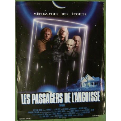 LES PASSAGERS DE L'ANGOISSE - Affiche originale - 1987 - Tex Fuller, Ione Skye, Maureen O'Sullivan, Joe Morton