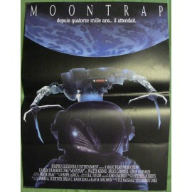 MOONTRAP - Affiche originale - 1989 - Robert Dyke, Walter Koenig, Bruce Campbell, Leigh Lombardi