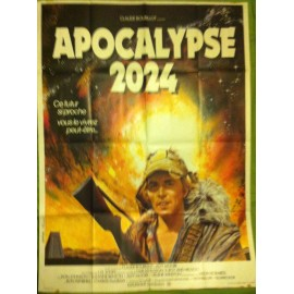 APOCALYPSE 2024 - Affiche originale - 1975 - Don Johnson, Jason Robards, Susanne Benton, L.Q. Jones