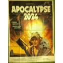 APOCALYPSE 2024 - Affiche originale - 1975 - Don Johnson, Jason Robards, Susanne Benton, L.Q. Jones
