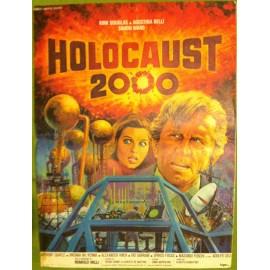 HOLOCAUST 2000 - Affiche originale - 1977 - Alberto De Martino, Kirk Douglas, Simon Ward, Agostina Belli