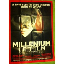 MILLENIUM, LE FILM - Affiche originale - 2009 - Michael Nyqvist, Noomi Rapace