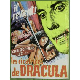 LES CICATRICES DE DRACULA - Synopsis - 1970 - Roy Ward Baker, Christopher Lee, Dennis Waterman, Jenny Hanley