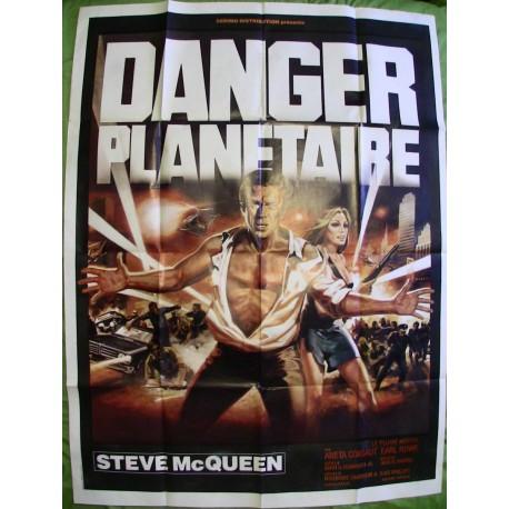 DANGER PLANETAIRE (THE BLOB) - Affiche originale - 1958 - Irvin S. Yeaworth Jr., Steve McQueen, Aneta Corsaut, Earl Rowe