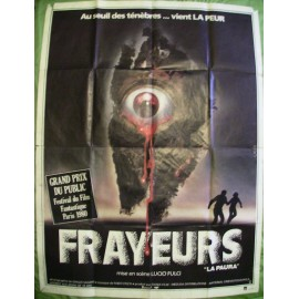 FRAYEURS - Affiche originale - 1980 - Lucio Fulci, Catriona MacColl, Christopher George