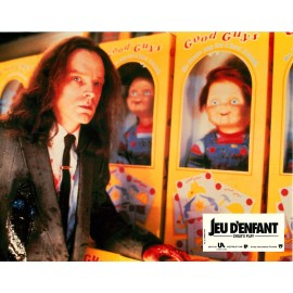 CHUCKY (JEU D'ENFANT/CHILD'S PLAY) - Photo exploitation - 1988 - Tom Holland, Don Mancini, Brad Dourif, Catherine Hicks