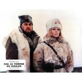 ILSA, LA TIGRESSE DU GOULAG - Jeu de 11 photos d'exploitation - 1977 - Dyanne Thorne