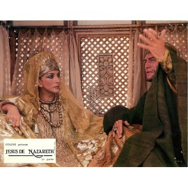 JESUS DE NAZARETH - Photo exploitation - 1977 - Robert Powell, Olivia Hussey, Laurence Olivier