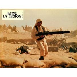 IL ÉTAIT UNE FOIS LA LÉGION - Jeu de 11 photos d'exploitation - 1977 - Gene Hackman, Terence Hill, Catherine Deneuve