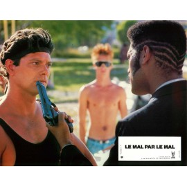 LE MAL PAR LE MAL - Jeu de 12 photos d'exploitation (Jeu A+B) - 1986 - Stephen Lang, Lauren Holly